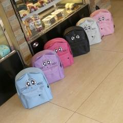 Sailor Moon Backpack Printing Backpack High Middle School Students Book Bag Teenage Girls School Bag pink 31cm×38cm×10cm