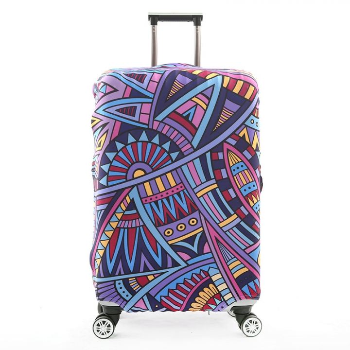 Perfectly Colour Apply Suitcase Case Protective Cover Travel Luggage 05 24inch To Elastic M For Trunk 22 ALRqcj354S