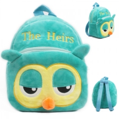 2018 Plush Backpacks Baby Mini Schoolbag Hello Kitty kindergarten Backpack Cute Children School Bags green 23cm×21cm