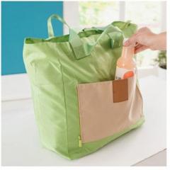 Portable Multi-purpose Folding Travel Bag Computer Inclusion Bag green 40cm×36cm