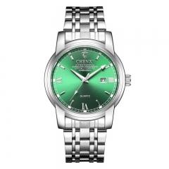 CHENXI new watches men's watch birthday gifts calendar luminous business waterproof watch 8203 green diameter:42mm