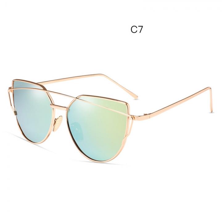 8aca1cfeb1e 2018 new fashion trend sunglasses metal color film glasses to the retro  Korean cool sunglasses SC013