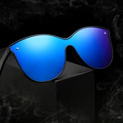 Connected type male lady fashion polarizer sunglasses outdoor riding glasses trend sunglasses KP020 colour01 free size