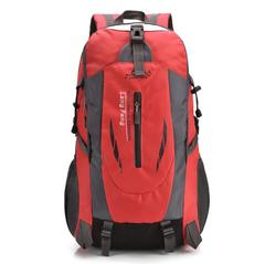 Travel large capacity mountaineering bag wear waterproof outdoor backpack red 30cmx17cmx52cm