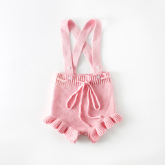Confectionery baby knitted Jumpsuit pink 66cm