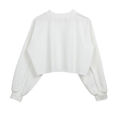 Loose size tops white s