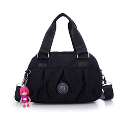 New Fashion Leisure Hand-held Large Capacity Canvas Bag in 2019 black 19cmx28cmx15cm