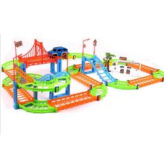 Track educational toys children's diy toys multicolour 38cmx5.5cmx24cm