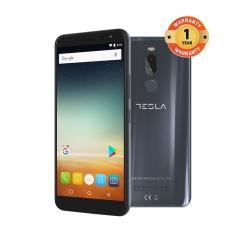 TESLA 9.1 LITE Metal SMARTPHONE 3+32GB-13MP, 8MP-4G Dual SIM-USBC Quick Charge Fingerprint Detection Grey