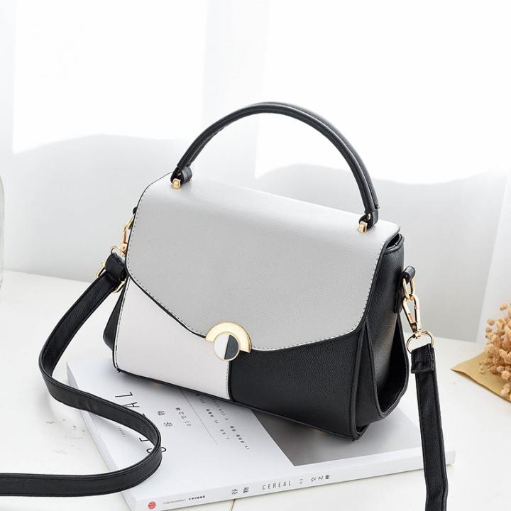 Kilimall  Fashion Women Faux Leather Tote Zipper Shoulder Bag ... 33af899935b95
