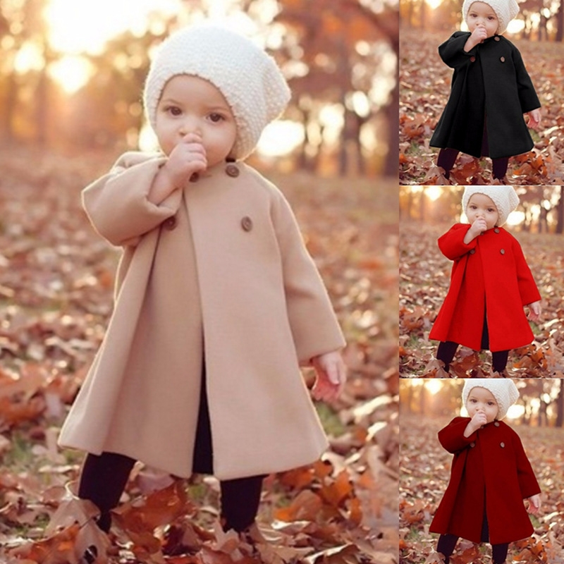 5dc297db9 Kids Baby Autum Winter Fashion Coat Warm Cute Trendy Jacket Kid ...