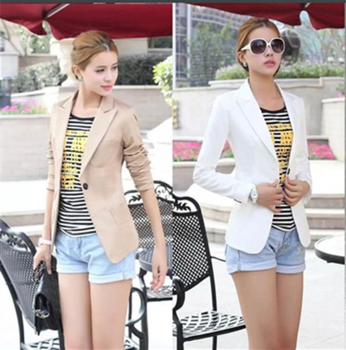 905134b38eea6 Kilimall: New Fashion Women's OL Wear to Work Stylish Suit Blazer ...