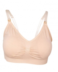 Seamless Nursing / Breastfeeding Bras Beige l