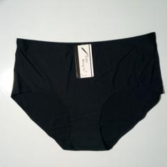 Plus Size Seamless Women's Panties black 4xl