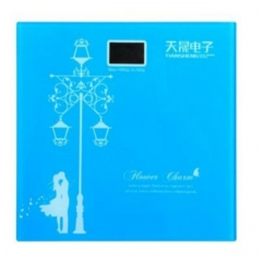Digital Weighing Scale light blue