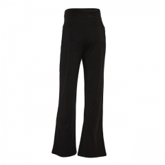 Black Office Maternity / Pregnancy Straight Leg Pants Black 14