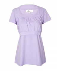 Purple Custom Nursing Top Purple 14