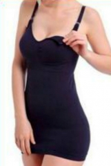 Black Seamless Camisole for Nursing - Tight fit black xl