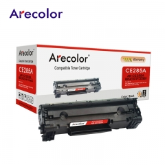 Arecolor 1 Piece Black Toner Cartridge AR-CE285A (85A)---For HP Printer--- black