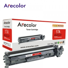 Arecolor 1 Piece Black Toner Cartridge AR-CF217A (17A)---For HP Printer--- black