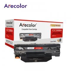 Arecolor 1 Piece Black Toner Cartridge AR-CC388A  (88A)---For HP Printer--- black