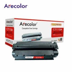 Arecolor 1 Piece Black Toner Cartridge AR-C7115A  (15A)---For HP Printer--- black