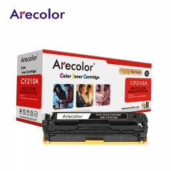 Arecolor 1 Piece Color Toner Cartridge AR-CF210A(131A)---For HP Printer--- AR-CF210X