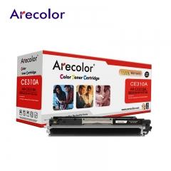 Arecolor 1 Piece Color Toner Cartridge AR-CE310A(126A)---For HP Printer--- AR-CE310A