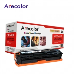 Arecolor 1 Piece Laser jet 125A Color Toner Cartridge ---For HP Printer--- AR-CB540A