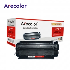 Arecolor 1 Piece Black Toner Cartridge AR-EP27 For Canon Printer--- black