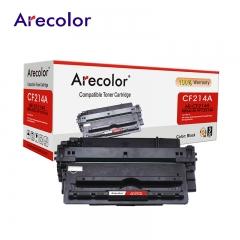 Arecolor 1 Piece AR-CF214A Black Toner Cartridge For HP Printer black