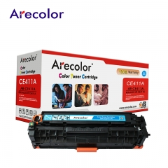 Arecolor 1 Piece AR-CE410A(305A) Color Toner Cartridge For HP Printer cyan