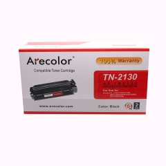 Arecolor 1 Piece AR-TN2130 Color Toner Cartridge For Brother Printer black