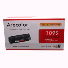 Arecolor 1 Piece AR-D109S Color Toner Cartridge For Samsung Printer black