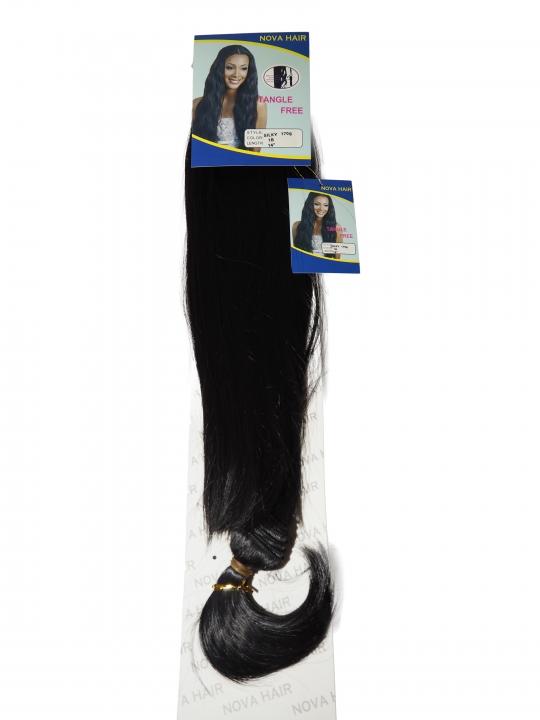 Nova Hair Synthetic Silky 170g 1B 14 inch