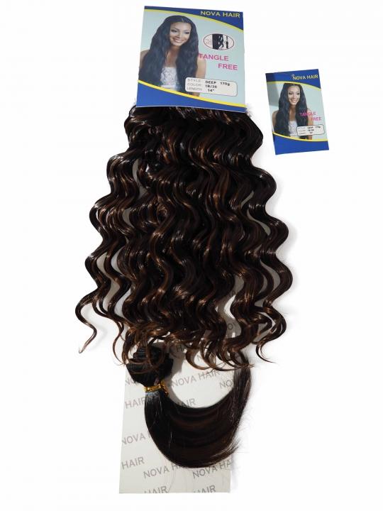 Nova Hair Synthetic Deep 170g 1B/30 14 inch