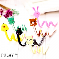 Latest Cartoon Charger Data Cable Winder Headphone Earphone Cable Organizer Silicone Wire Storage Random Long Size