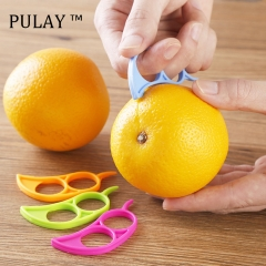 PULAY Orange Peeler Lemon Zester Opener Practical Fruit Slicer Kitchen Stripper Opener Cooking Tools Multi-color One Size