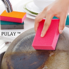 Dish wash Cleaning Tool Interlock Magic Sponge Eraser Cleaner Multi-functional for Kitchen Household Random One Size