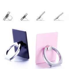 PULAY Universal Cell Phone Finger Ring Stand Holder Ring Buckle Hand Grip Kickstand for Phone Tablet Random Color 40*35mm