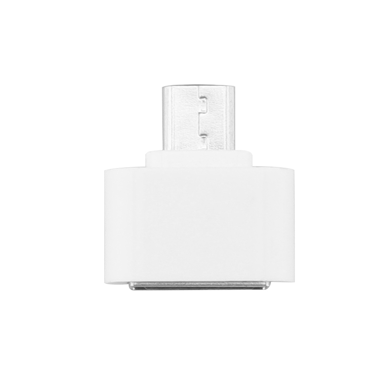 Mini OTG Cable USB OTG Adapter Micro USB to USB Converter for Tablet PC Android White one size 7