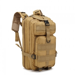 30L Backpack Oxford Outdoor Tactical Backpack Military Bags for Camping Climbing Traveling Bags Khaki 30L