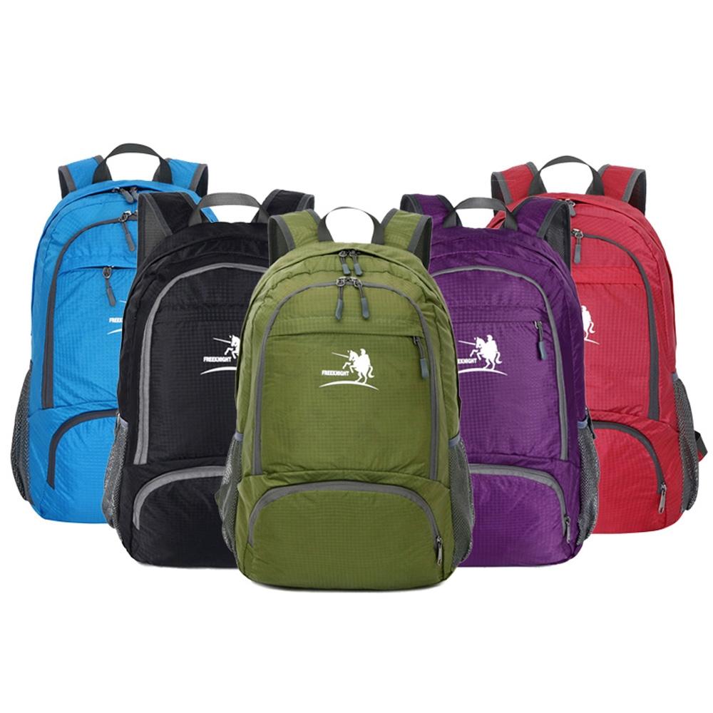 4b54294e2443 Lightweight Nylon Foldable Backpack Waterproof Folding Bag Portable ...