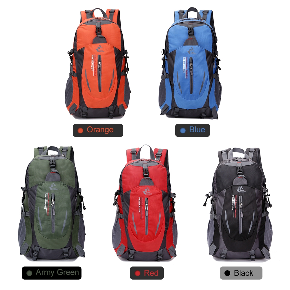 40L Waterproof Outdoor Climbing Backpack Women Men Hiking Athletic ... 70679f23e6ed7