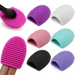 Kenya 5th Makeup Cleaning Brushegg Washing Tools Silicone Cosmetics Makeup Brushes Cleaner Tool Color Randomly