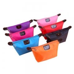 Women Travel Toiletry Make Up Cosmetic Pouch Bag Handbag Purses Case Cosmetic Makeup Bag Organizer Color Randomly