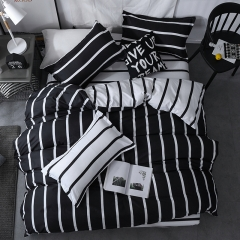 NEW Pure Cotton Pack Of 4/Set Duvet Cover Bedsheets Pillowcase Brief Bedding Comforter as picture6*6 as a picture 4*6
