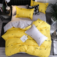 NEW Pure Cotton Pack Of 4/Set Duvet Cover Bedsheets Pillowcase Brief Bedding Comforter as picture6*6 as a picture 6*6