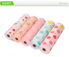 New Drawer Paper Printed Colorful Mat Wardrobe Kitchen Cabinet Pad High Qualitly red dot 500cm