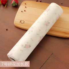 New Drawer Paper Printed Colorful Mat Wardrobe Kitchen Cabinet Pad High Qualitly rose 500cm